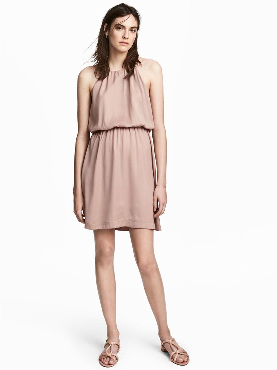 Сукня кольору пудри | 5449977
