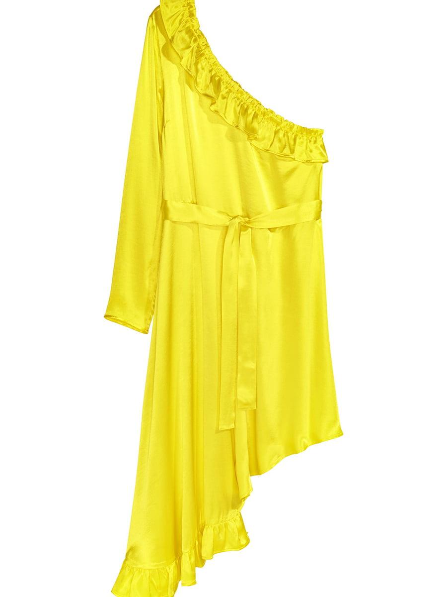 Платье желтое | 5450100