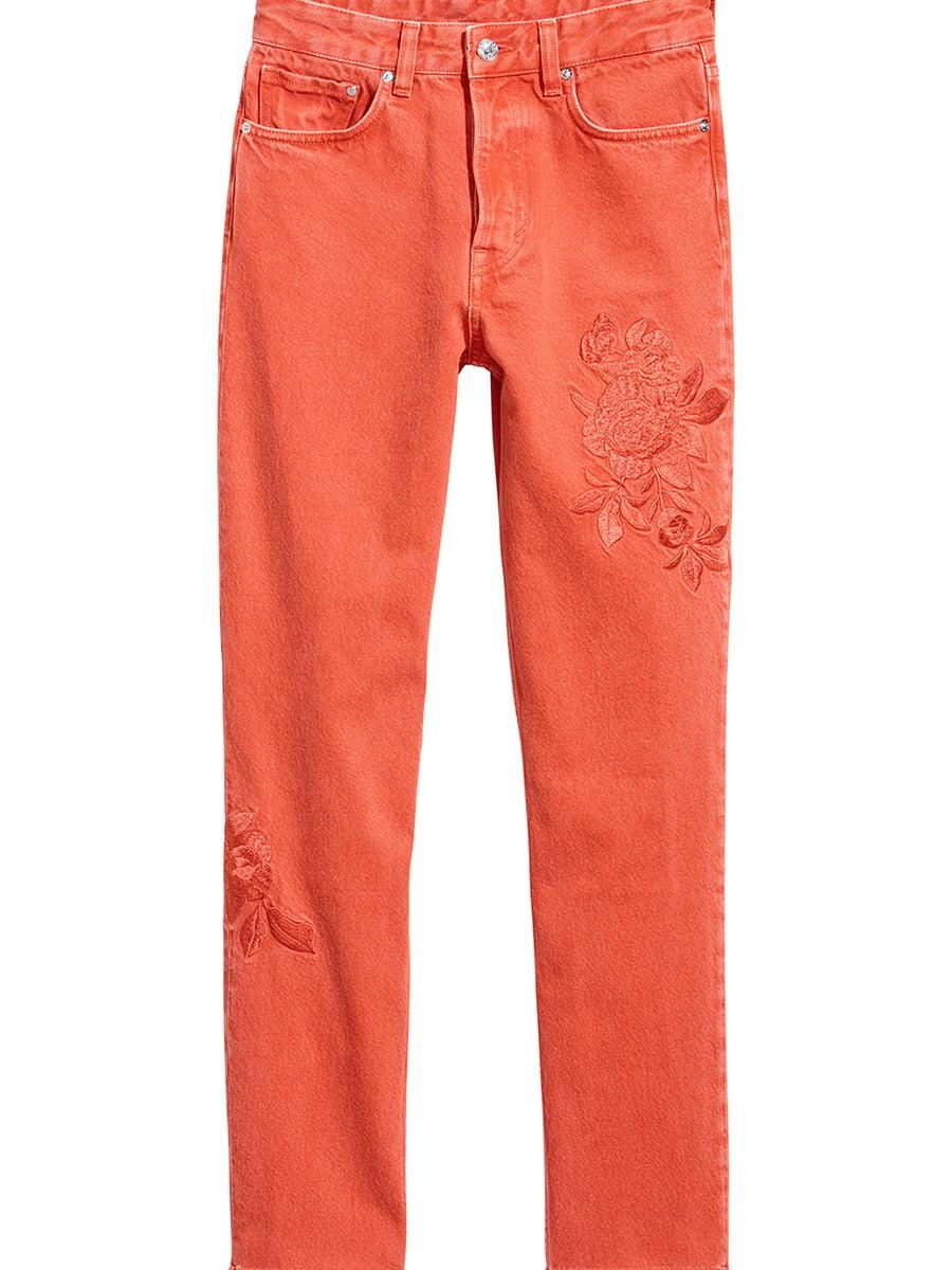 Джинсы оранжевые | 5450125