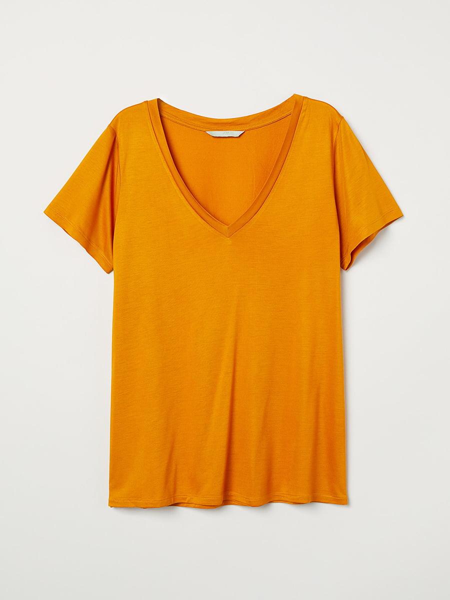 Футболка оранжевая | 5450186