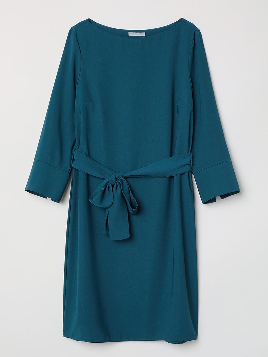 Платье бирюзовое   5450203