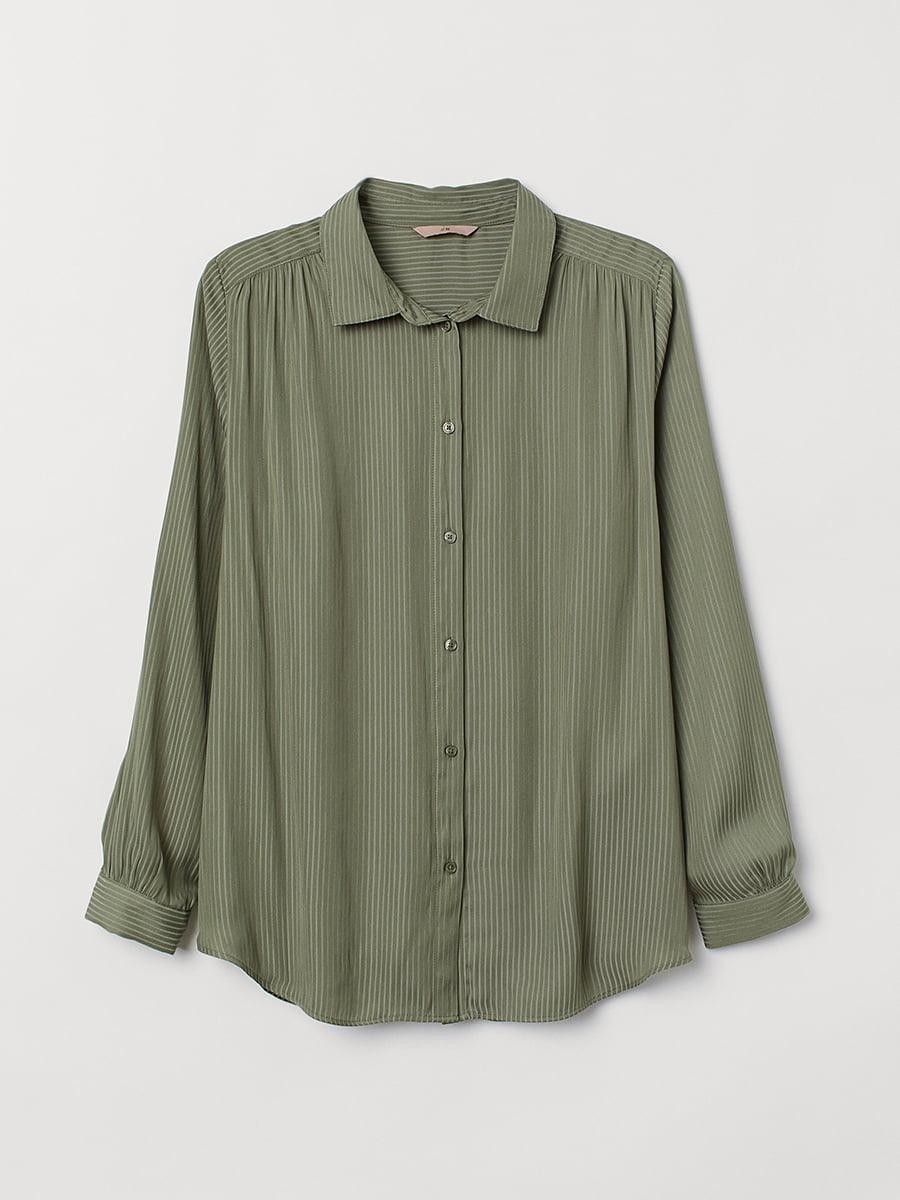 Рубашка зеленая | 5450331