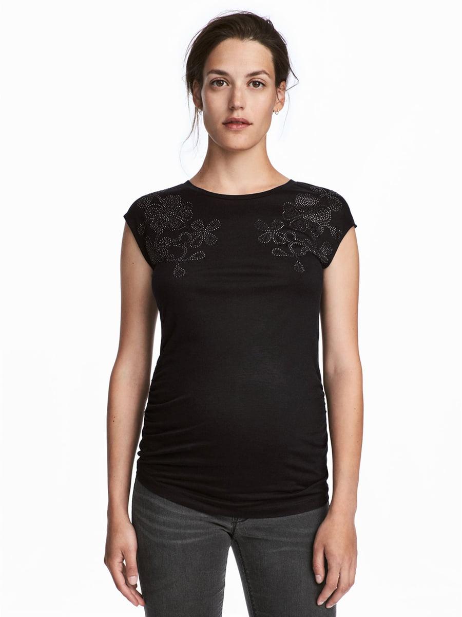 Майка для беременных черная   5450632