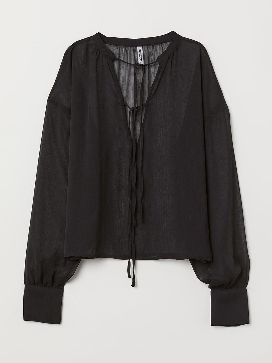 Блуза черная | 5457256