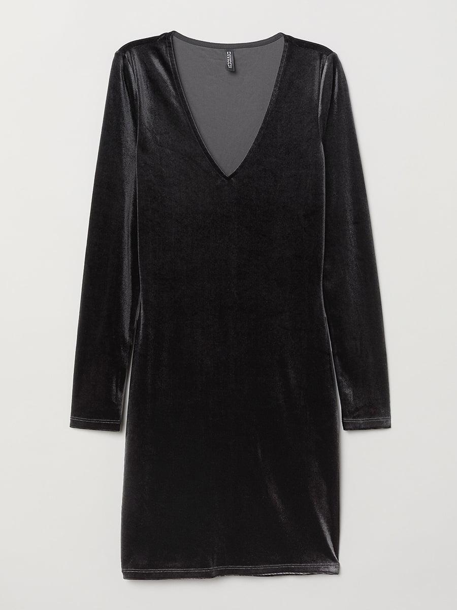 Платье черное | 5457305