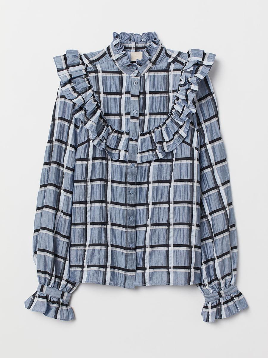 Блуза в клетку | 5457392