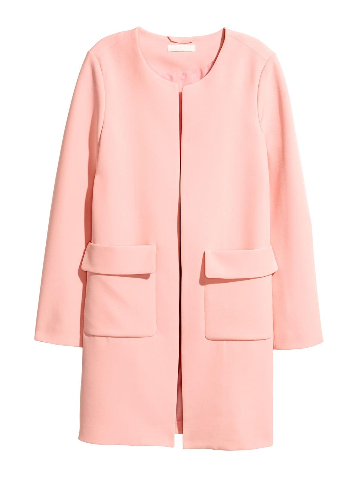 Пальто розовое | 5457582