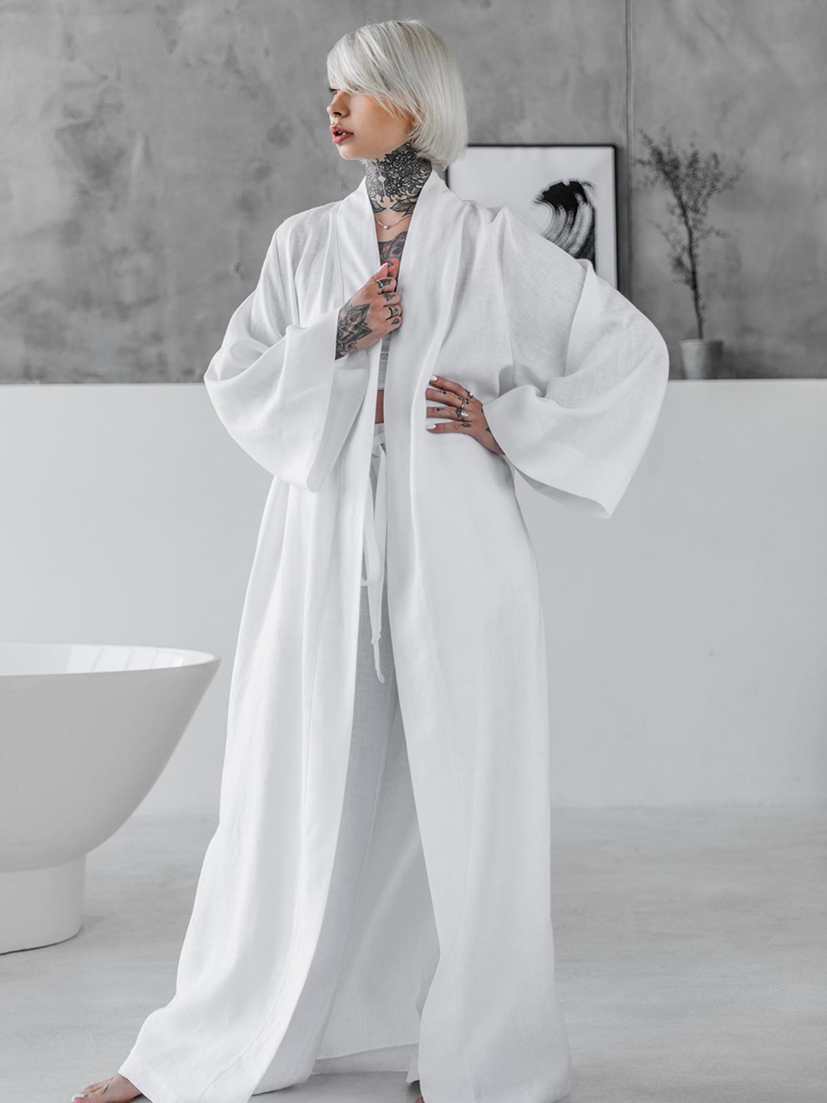 Кімоно біле | 5458299