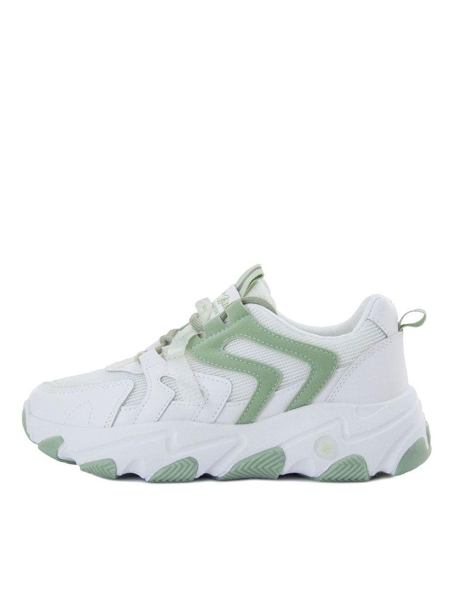 Кросівки біло-зелені | 5458700