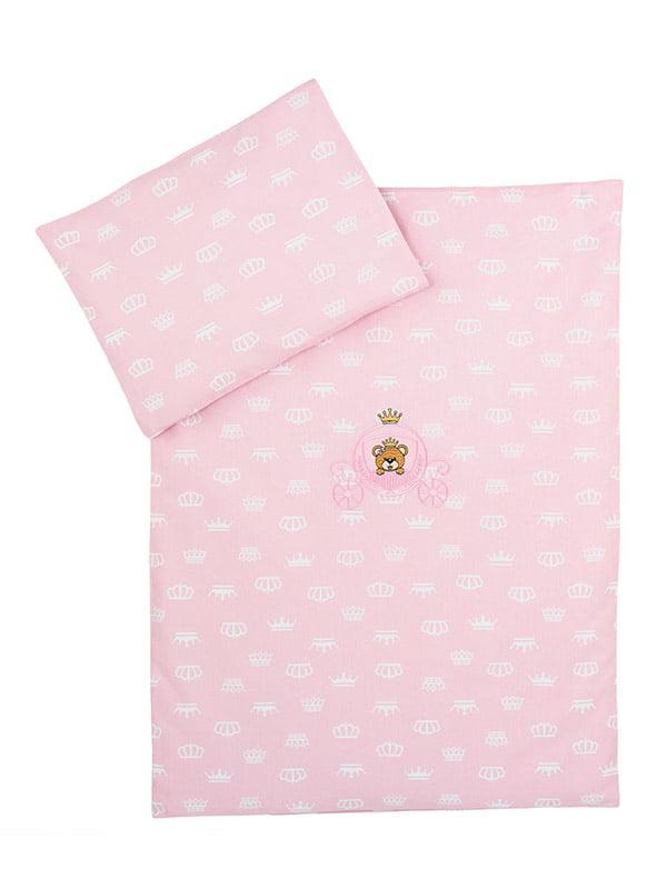 Комплект постельного белья в коляску   5458375