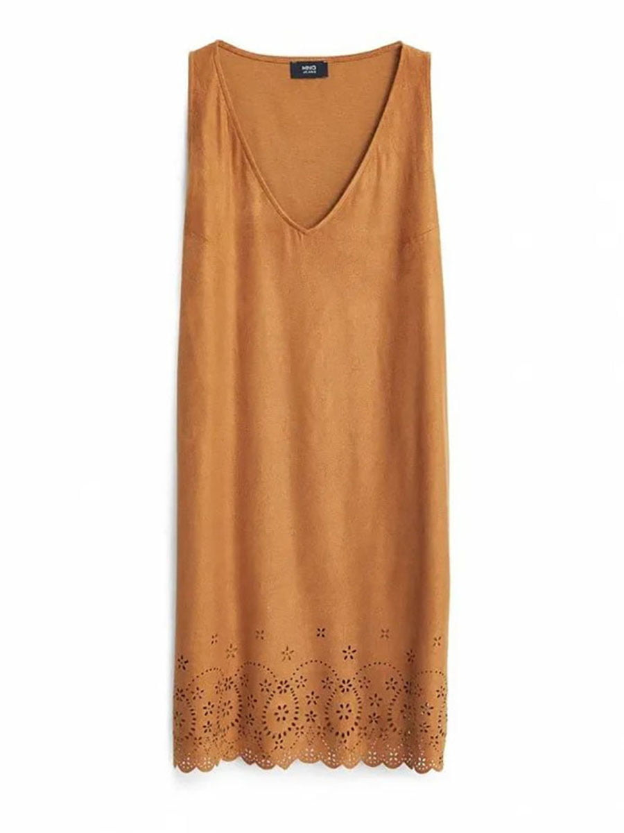 Платье коричневое | 5460518