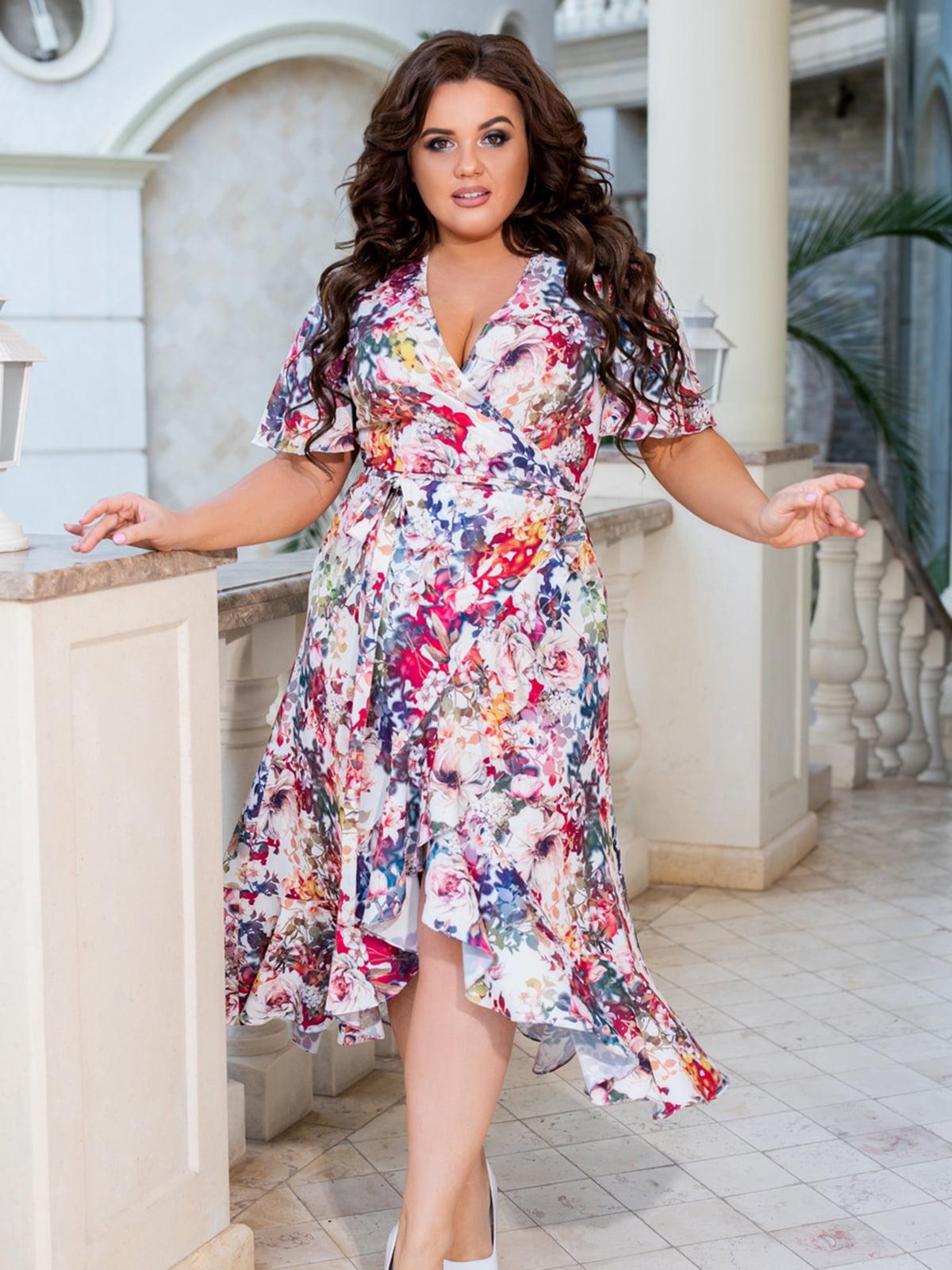 Сукня з квітковим принтом | 5464216