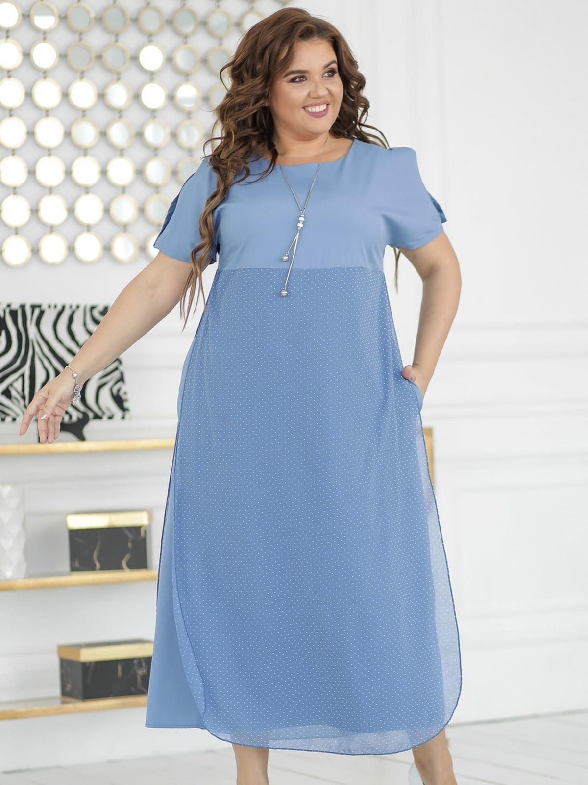 Сукня джинсового кольору | 5464317