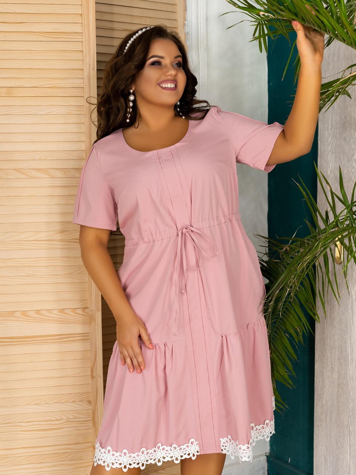 Сукня пудрового кольору | 5464322