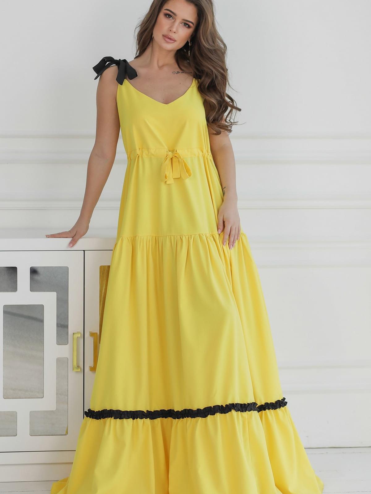 Сукня жовта | 5464345