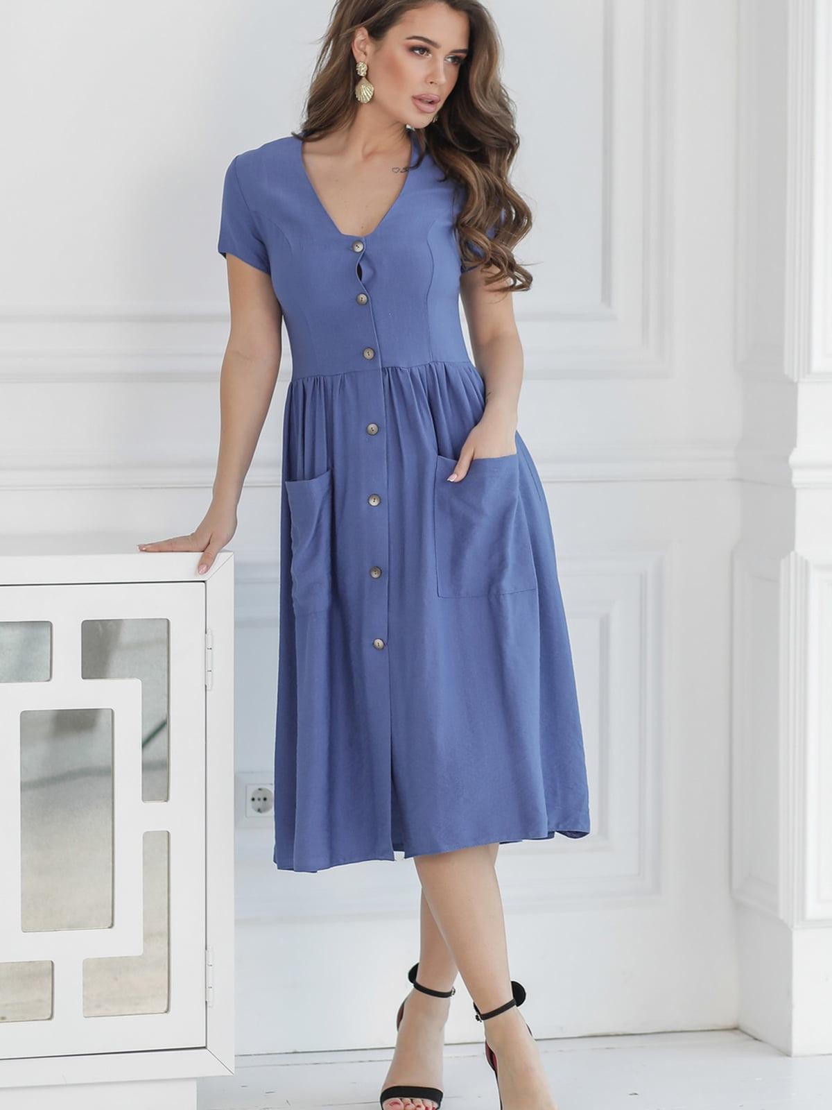 Платье синее   5464351