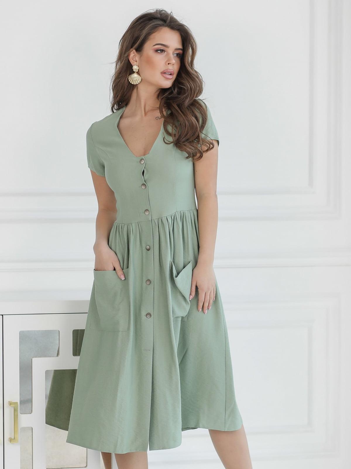 Сукня фісташкового кольору | 5464352