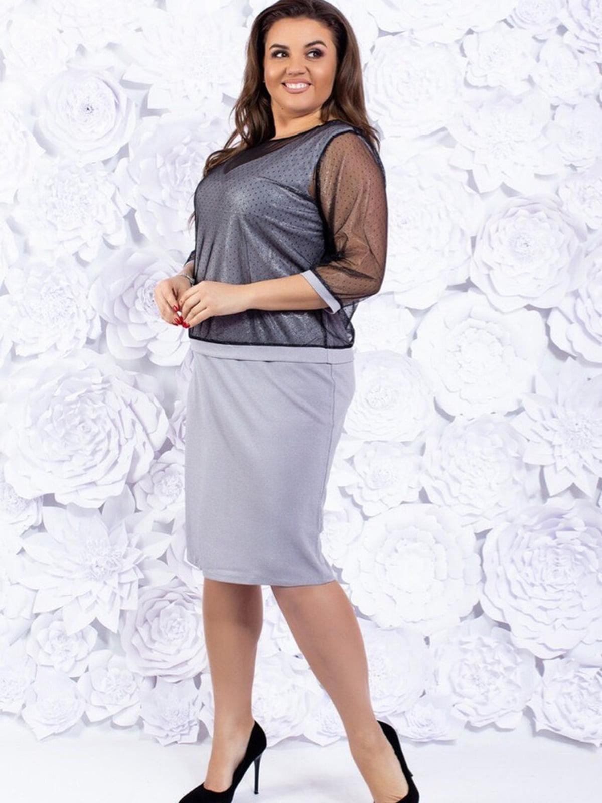 Комплект: платье и накидка | 5464119