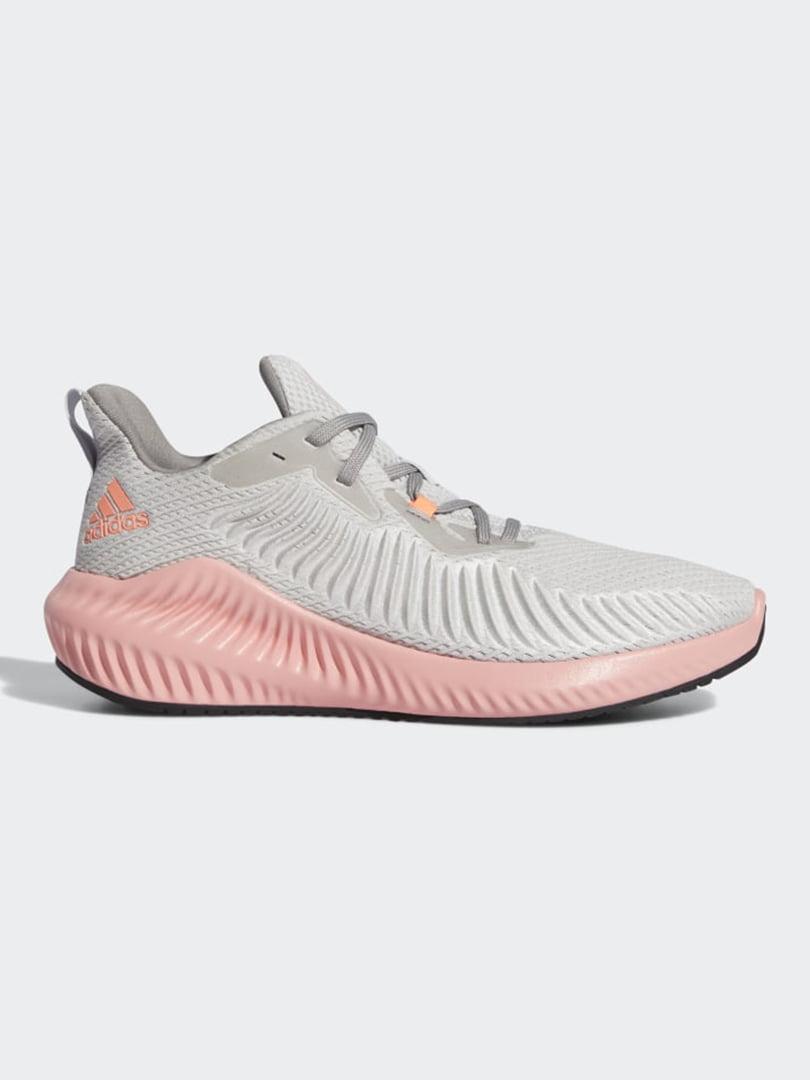 Кросівки сіро-рожеві | 5463273