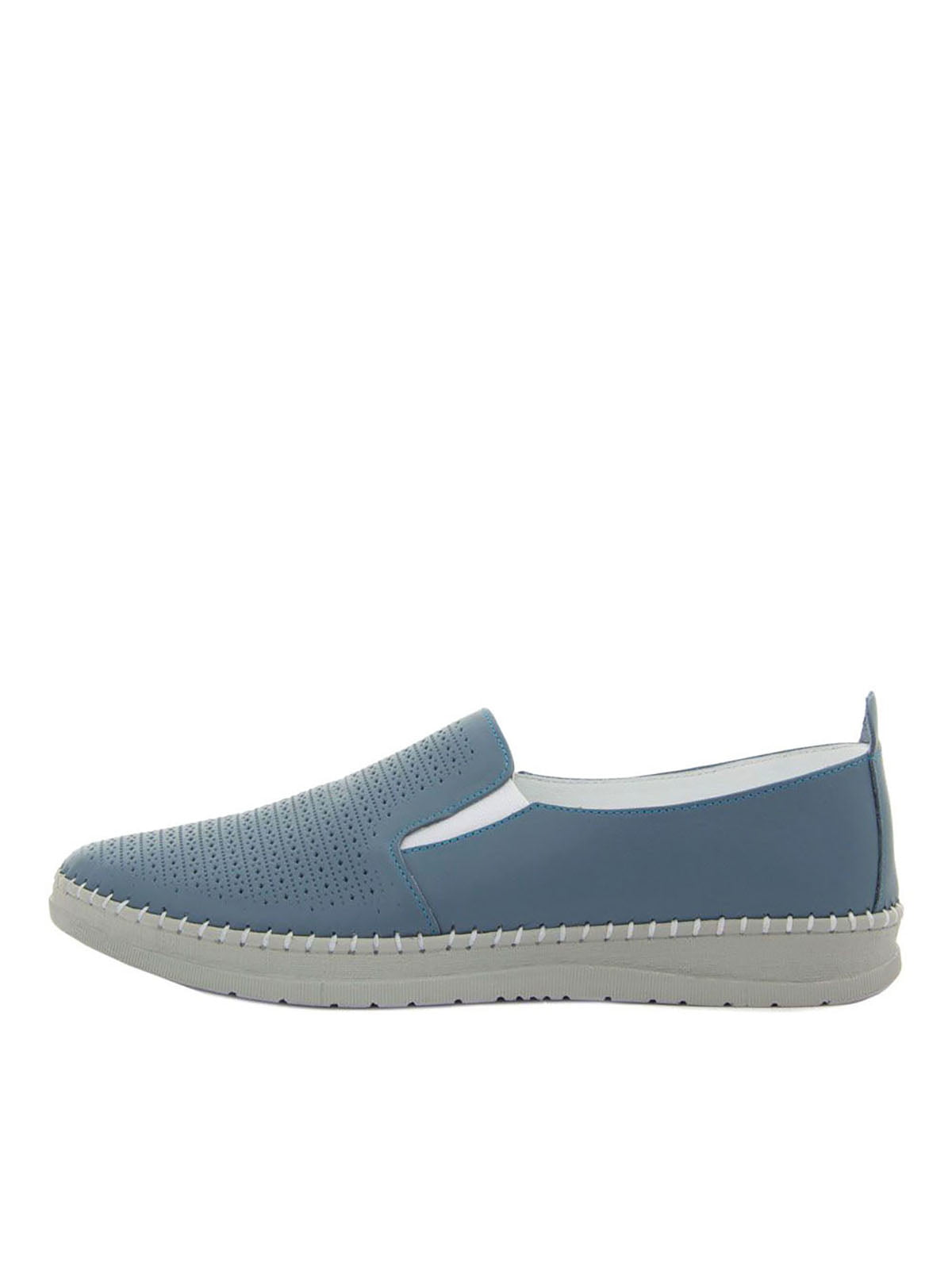 Туфли синие   5464736