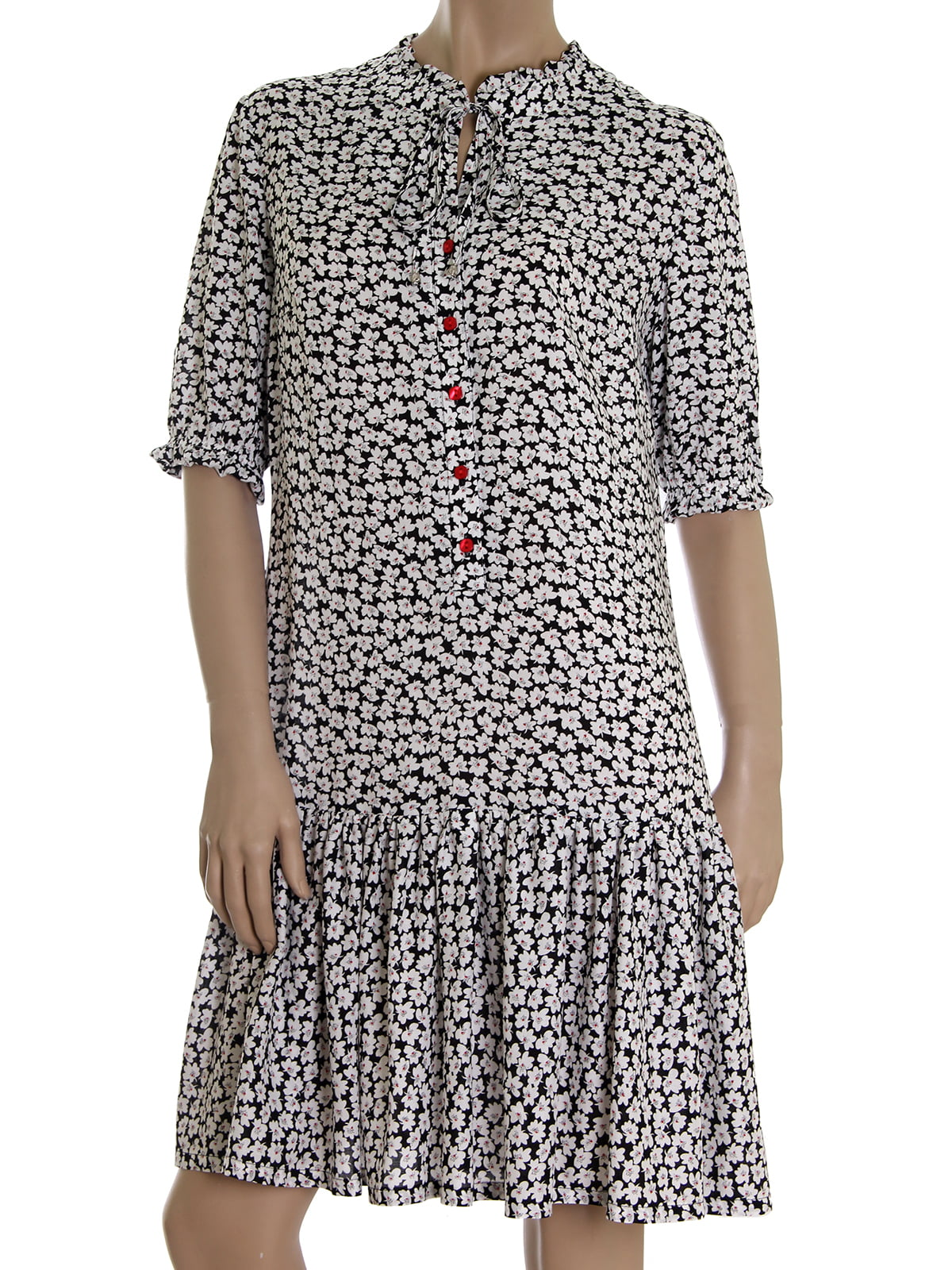 Платье в цветочный принт | 5464918