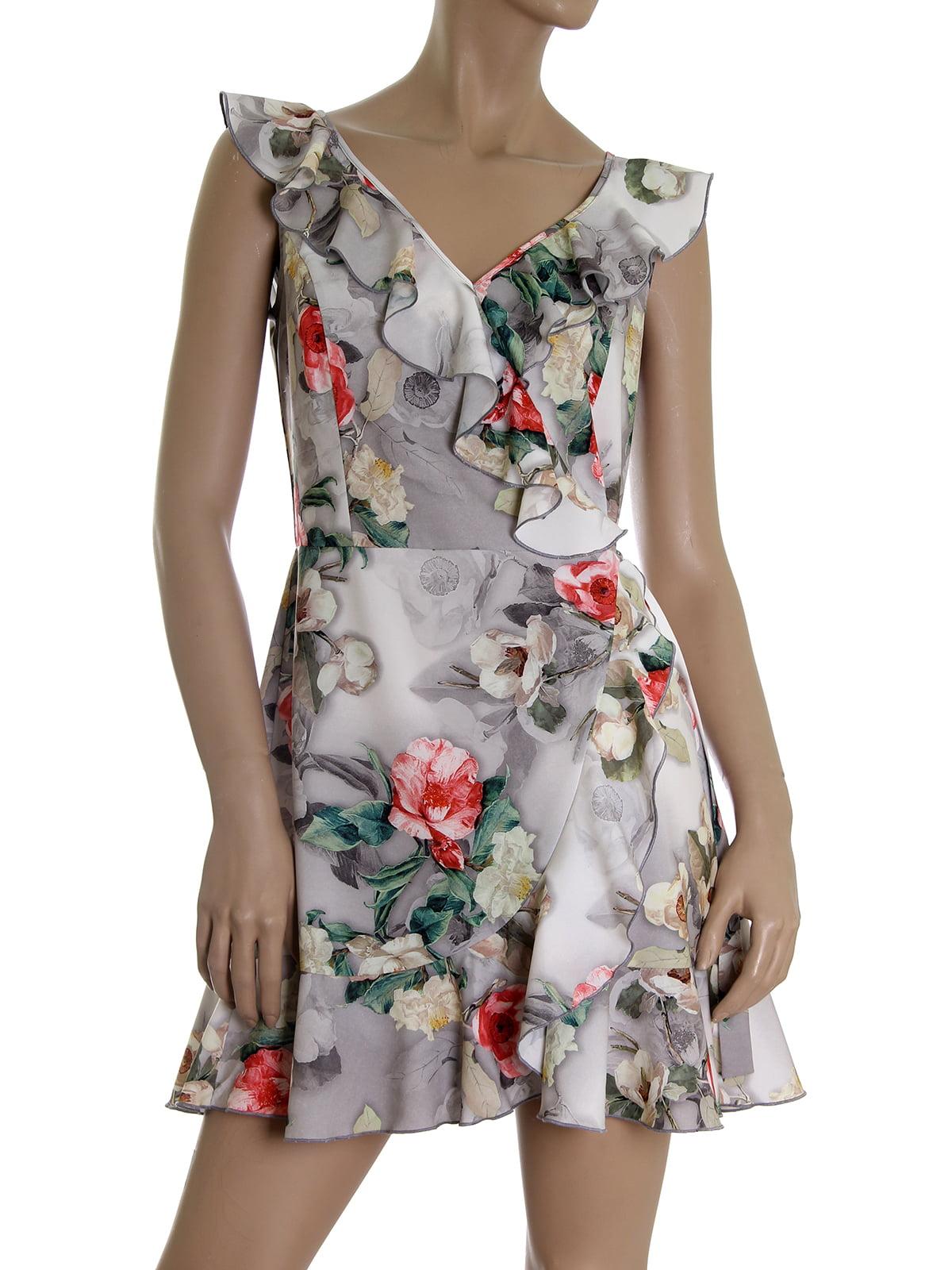 Платье в цветочный принт | 5464920