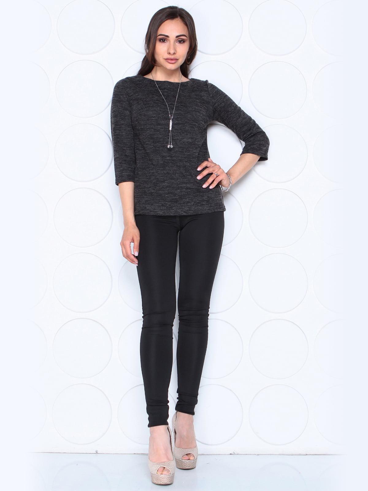 Блуза черная | 5472634