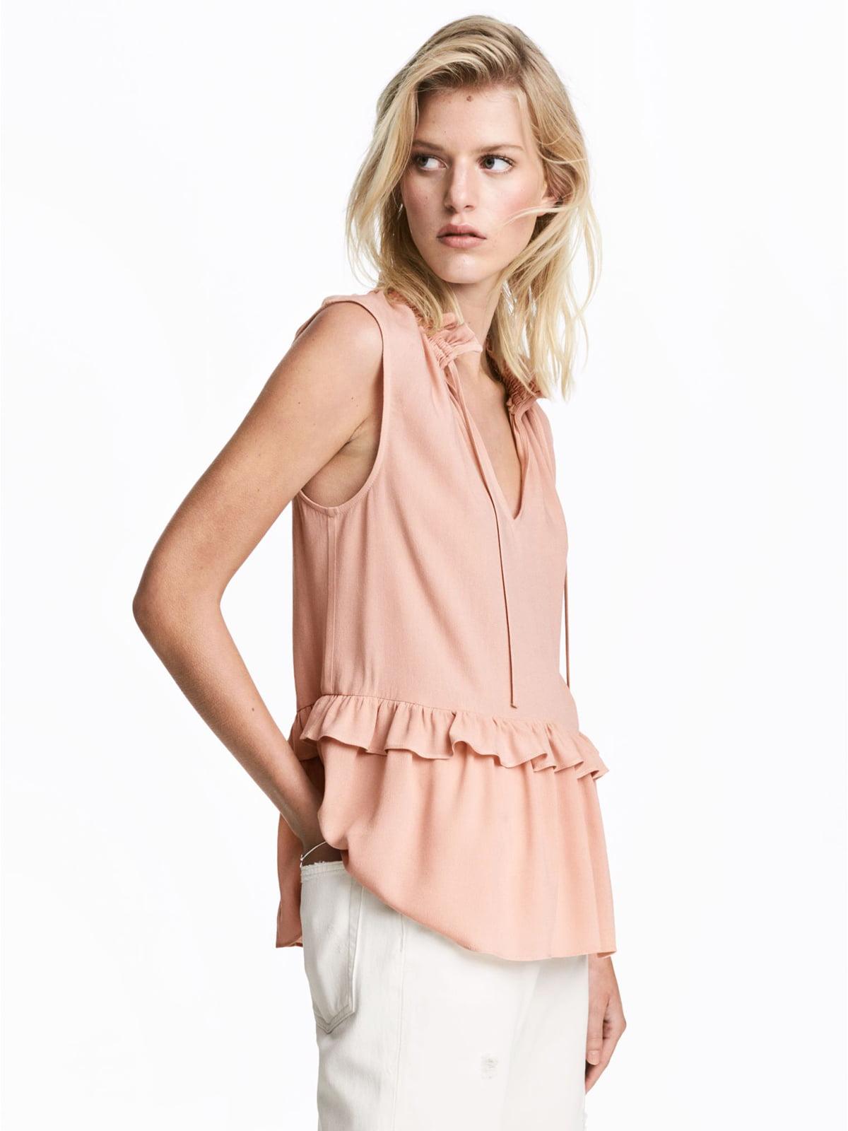Блуза розовая | 5474489