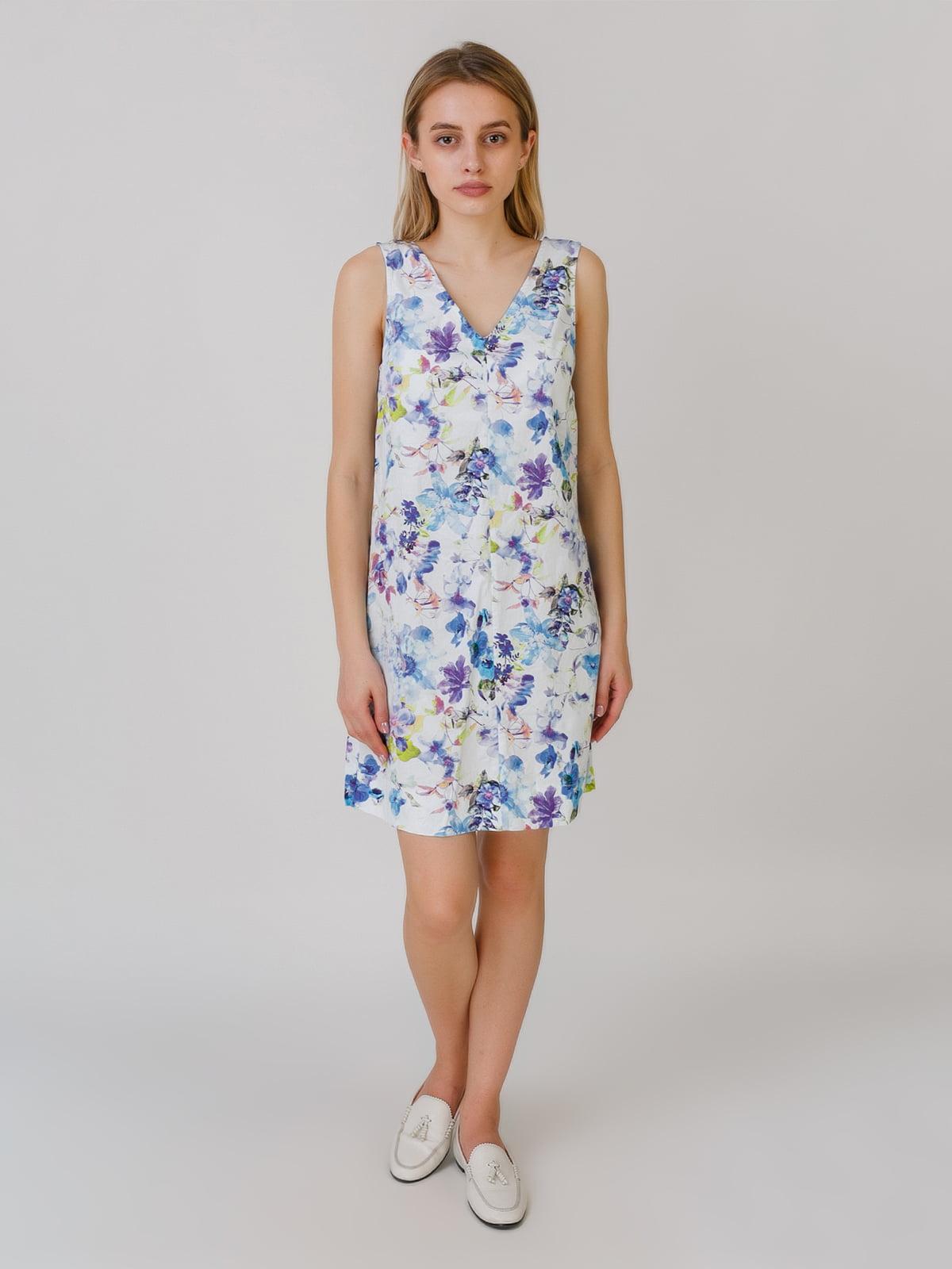 Платье в цветочный принт | 5464554