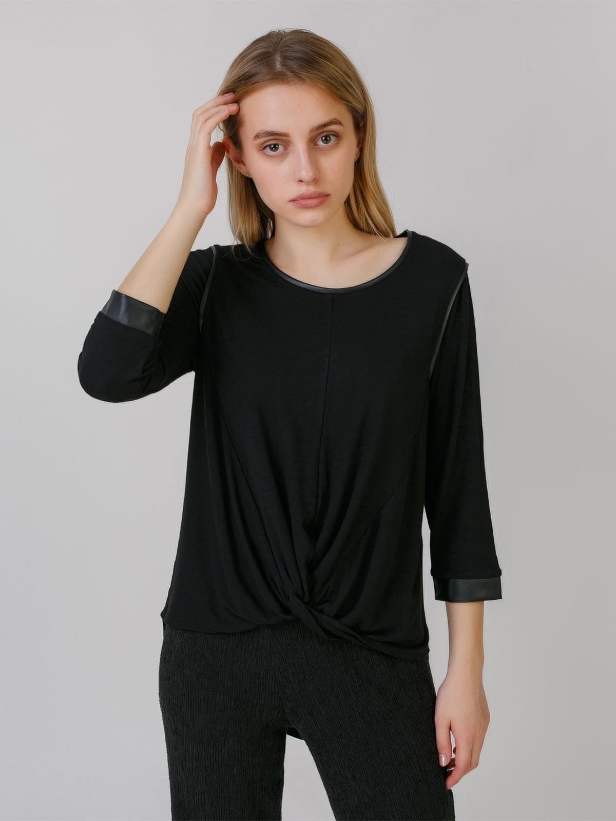 Блуза черная | 5464560