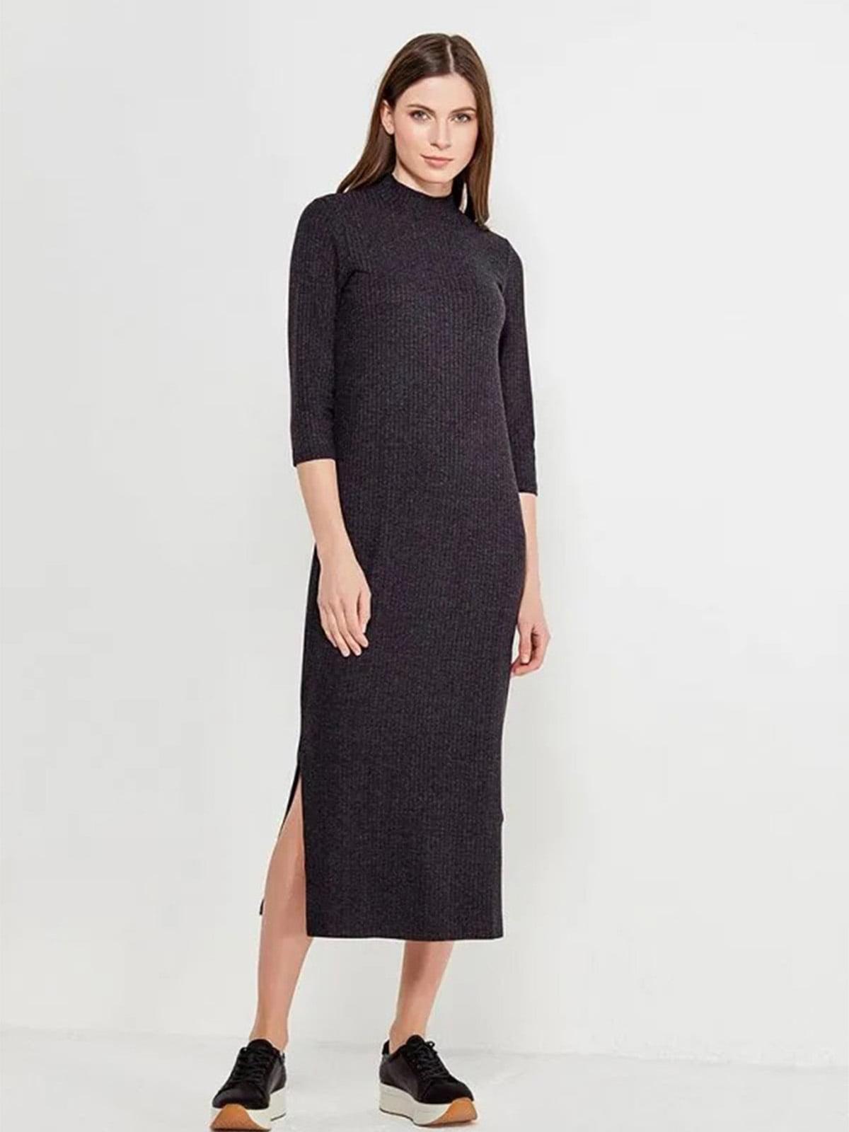 Платье темно-серое | 5477287