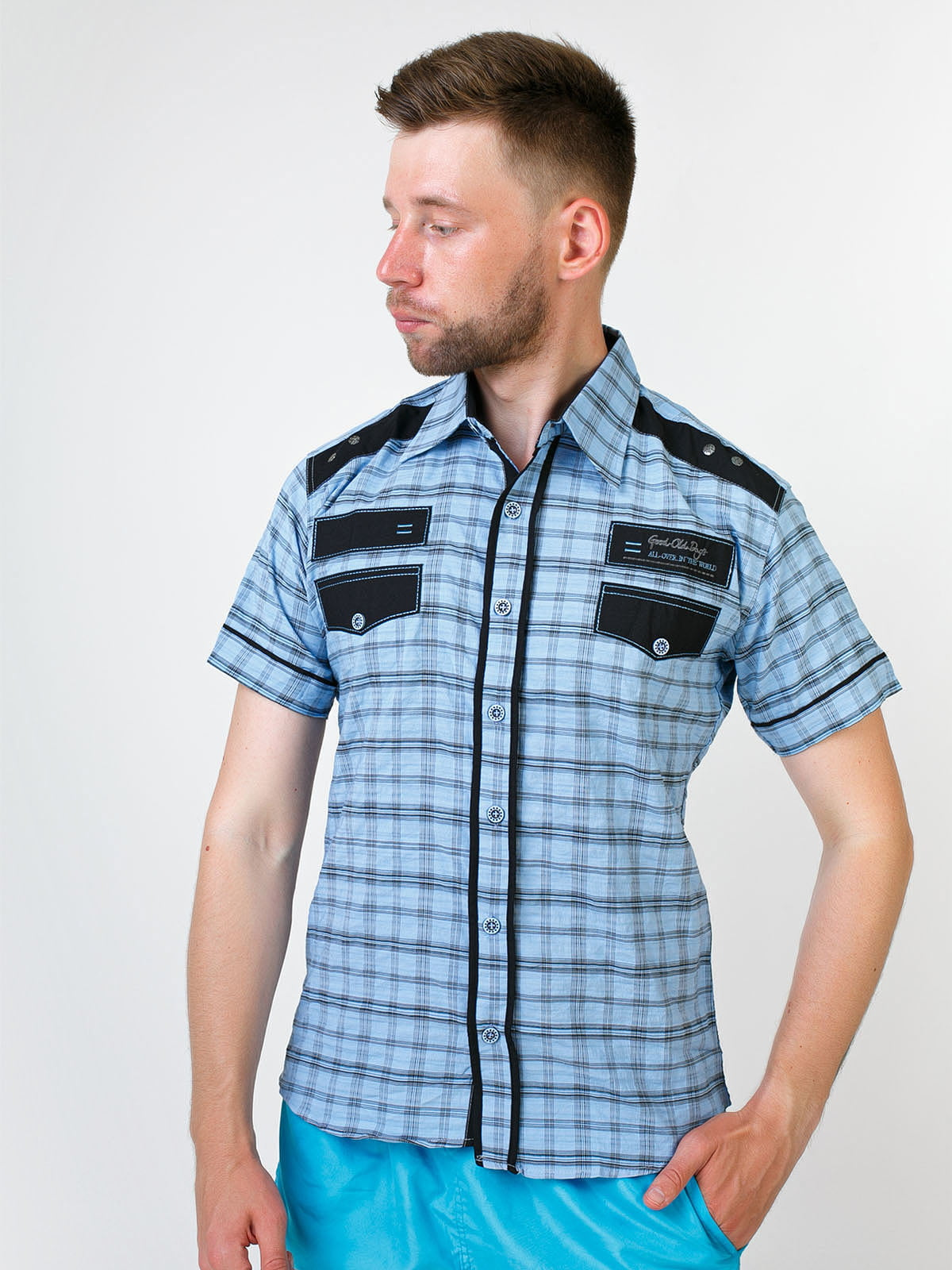 Рубашка в клетку | 5474653