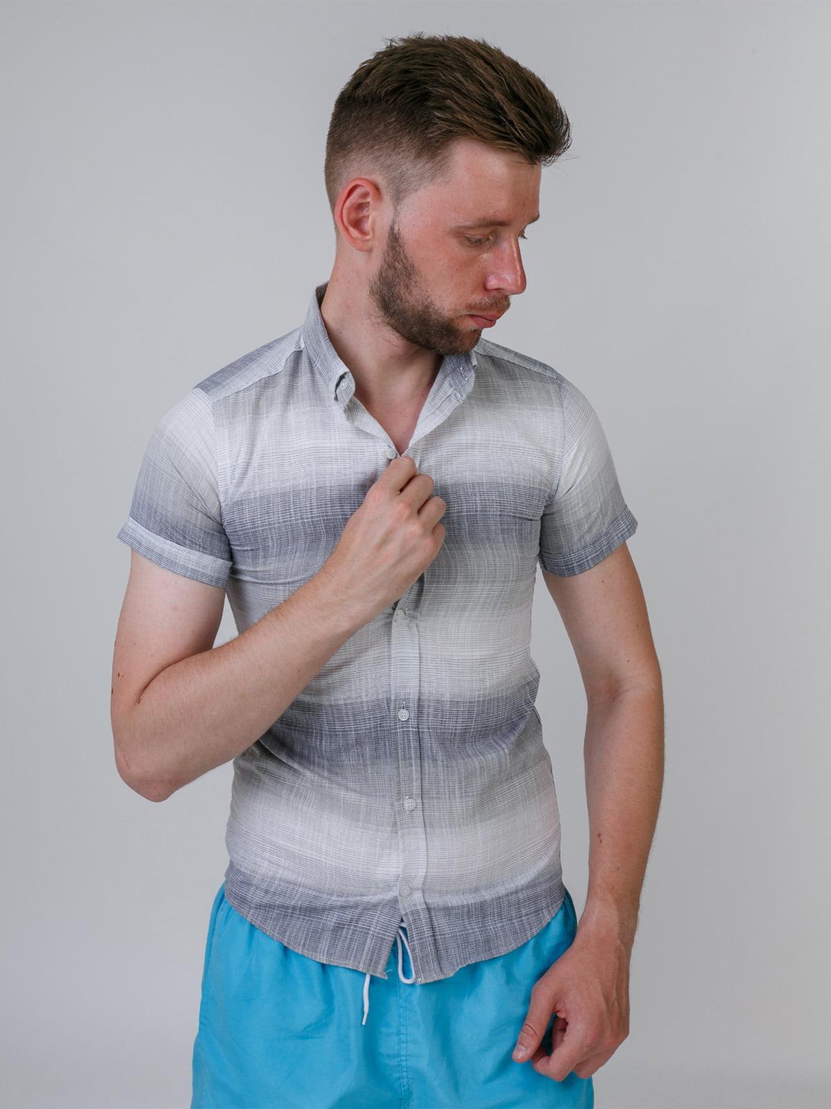 Рубашка трехцветная | 5464667