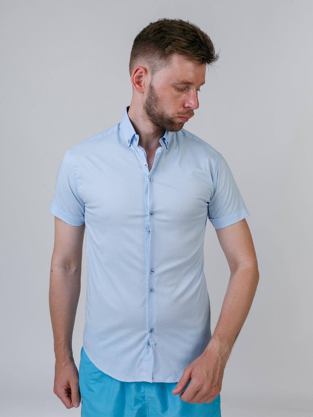 Рубашка голубая | 5464681