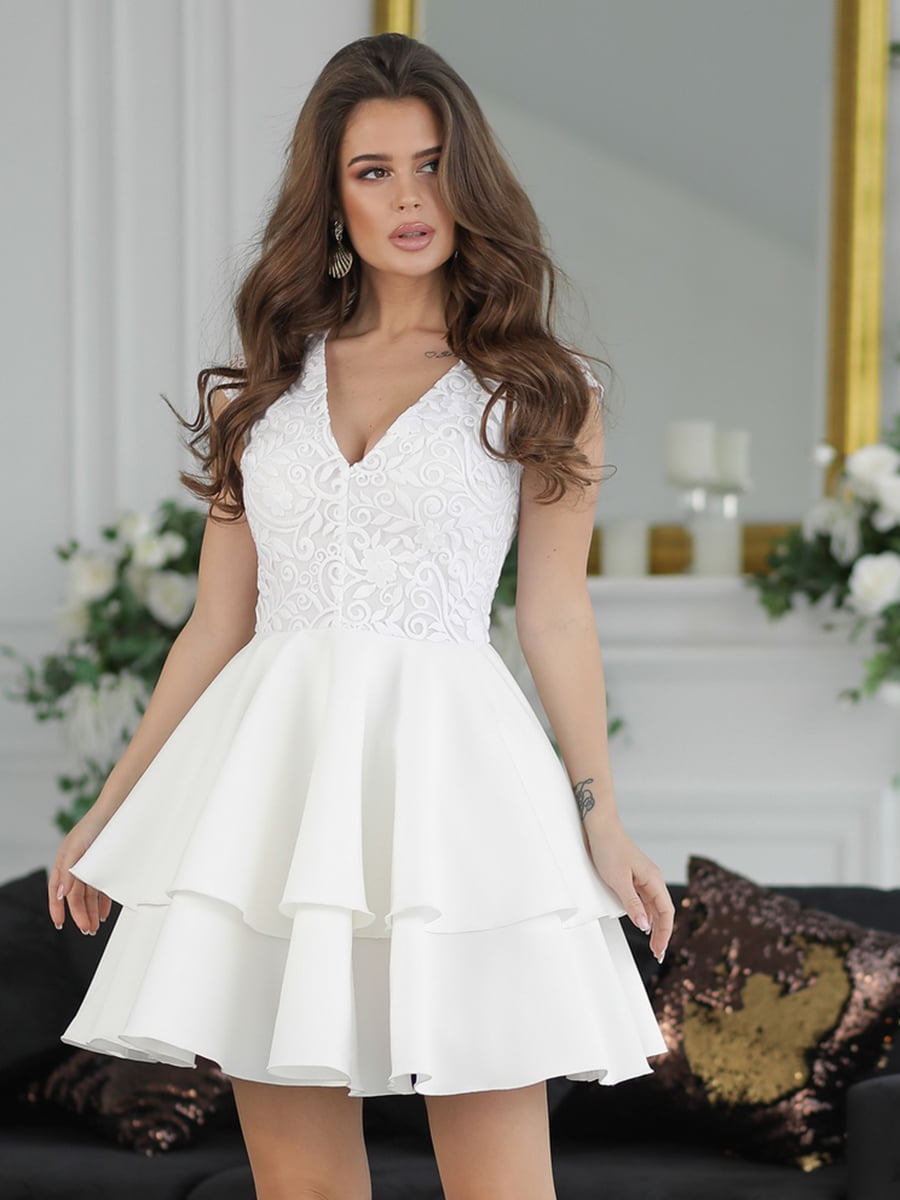 Платье белое   5464348