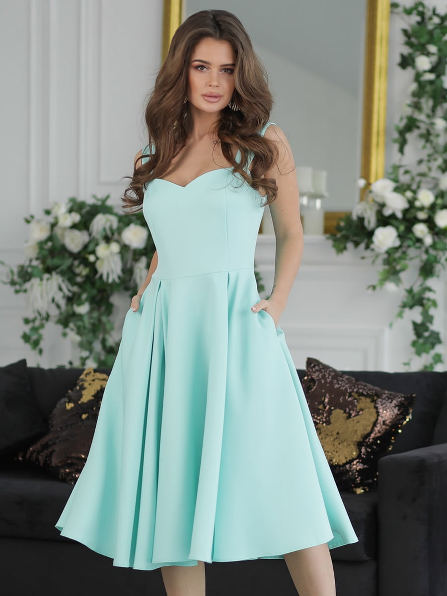 Сукня м'ятного кольору | 5464359