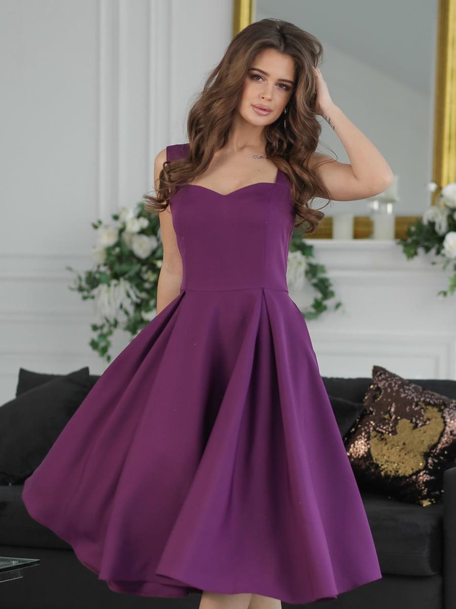 Сукня бузкового кольору | 5464360