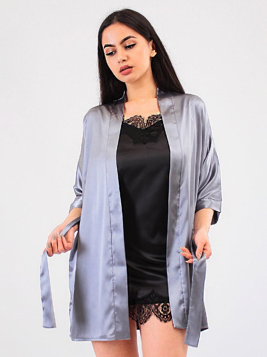 Комплект: халат і пеньюар | 5483991