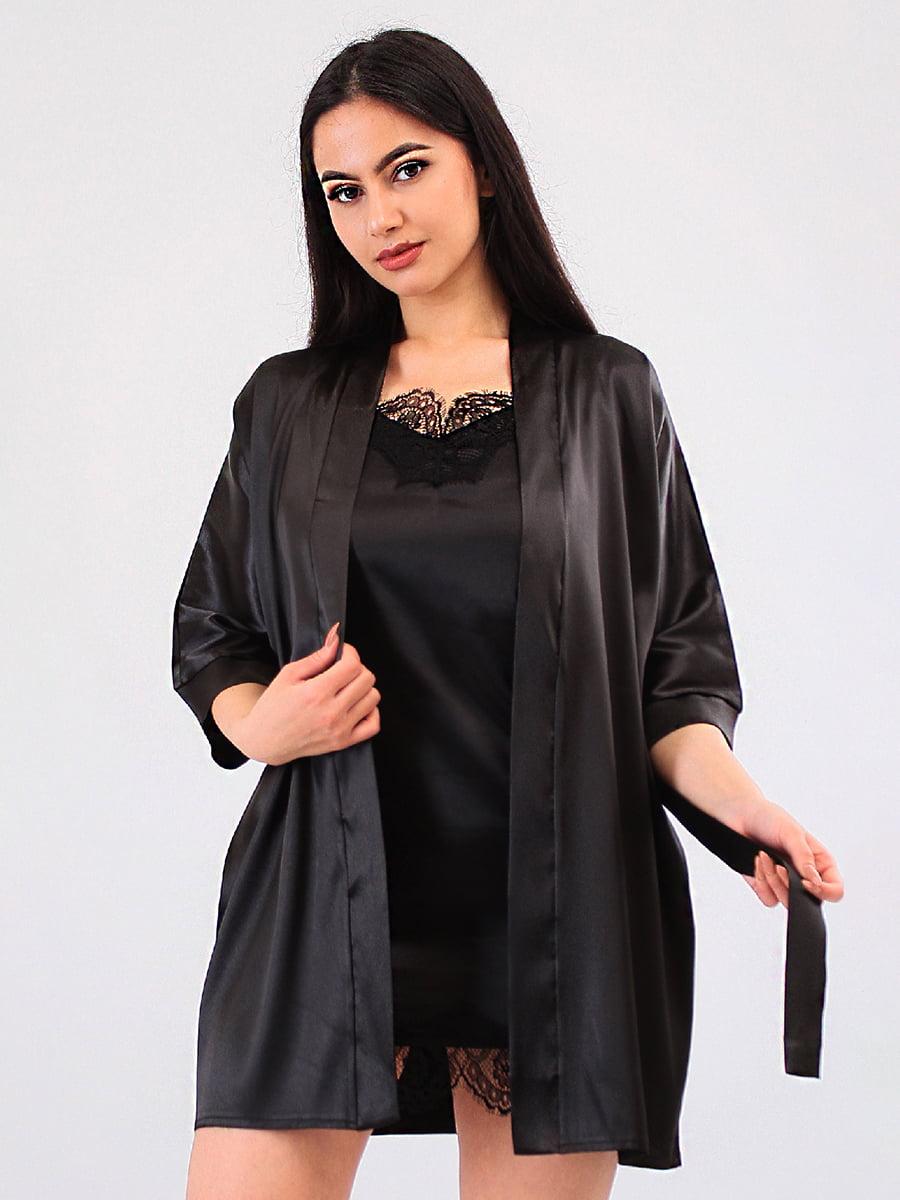 Комплект: халат і пеньюар | 5483996