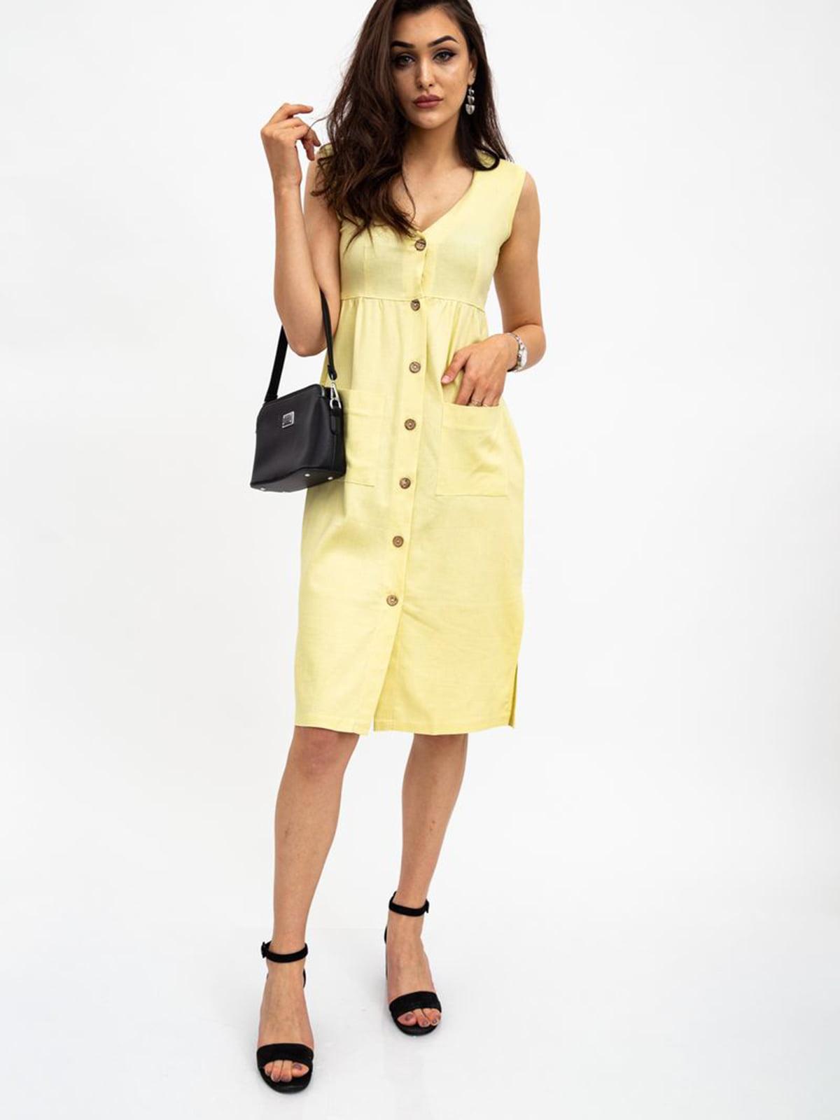 Платье лимонного цвета   5484474