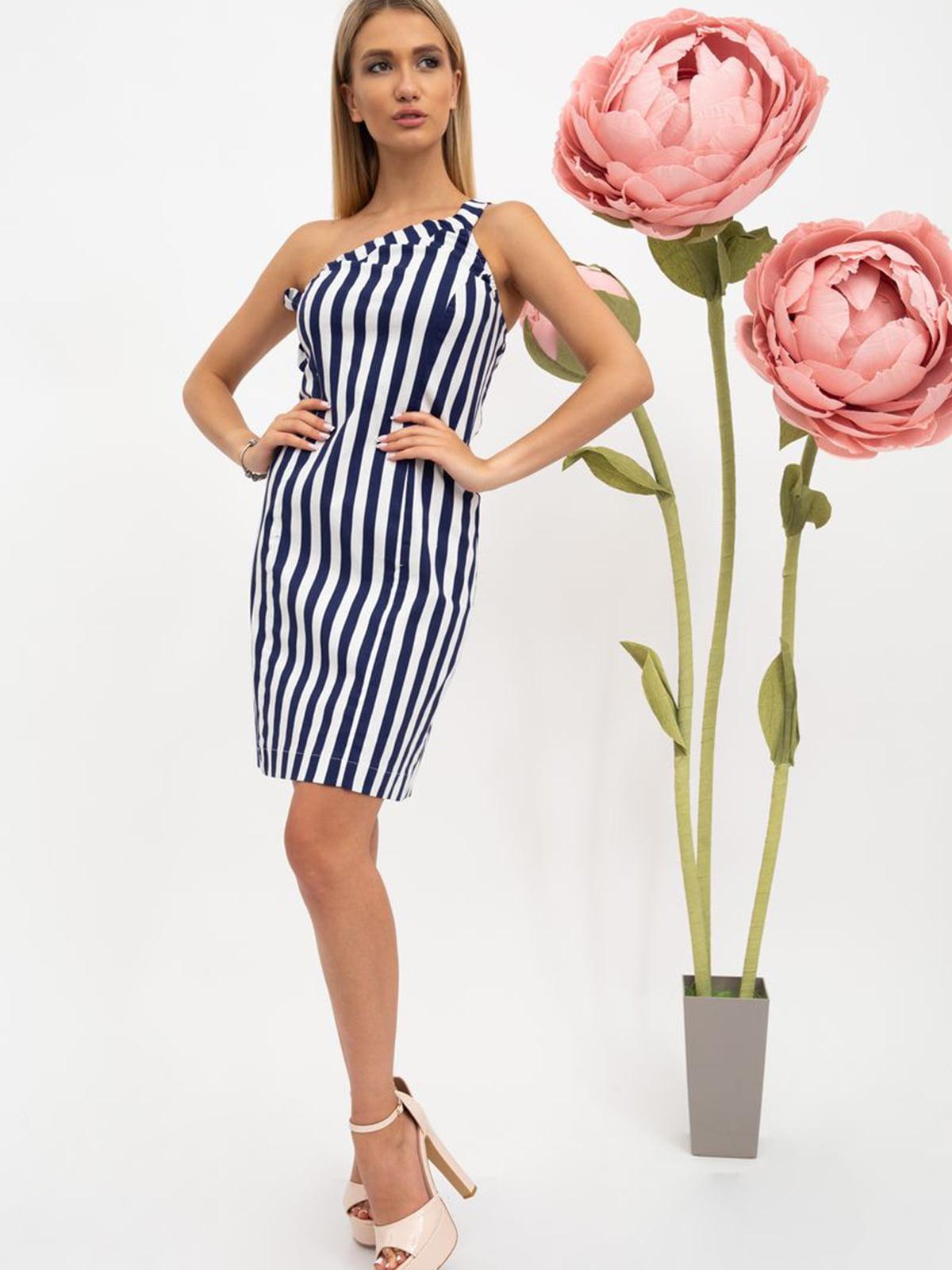 Платье в полоску   5484486