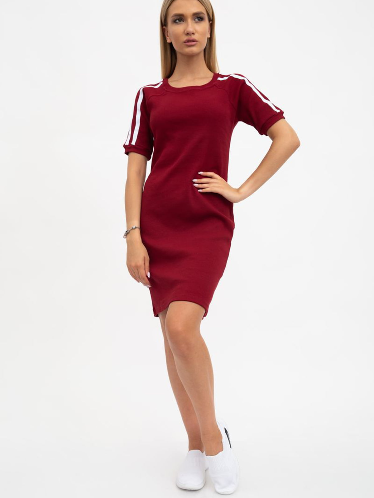 Платье бордовое | 5484496