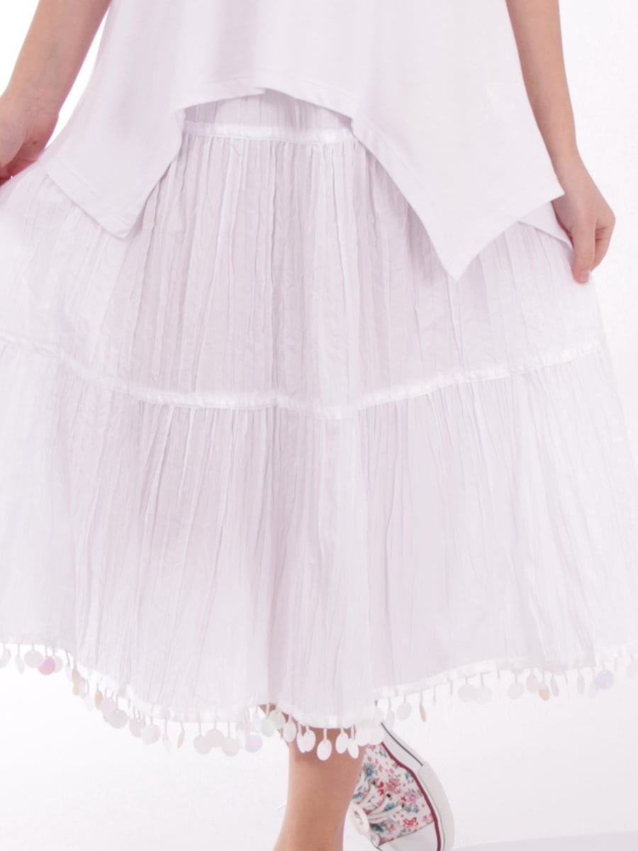 Спідниця біла   5485805