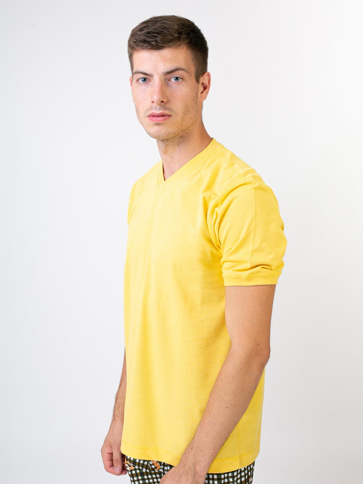 Футболка желтая | 5478845