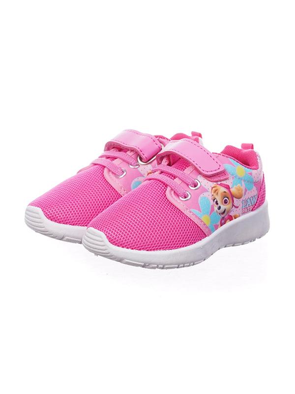 Кросівки рожеві в принт | 5491550