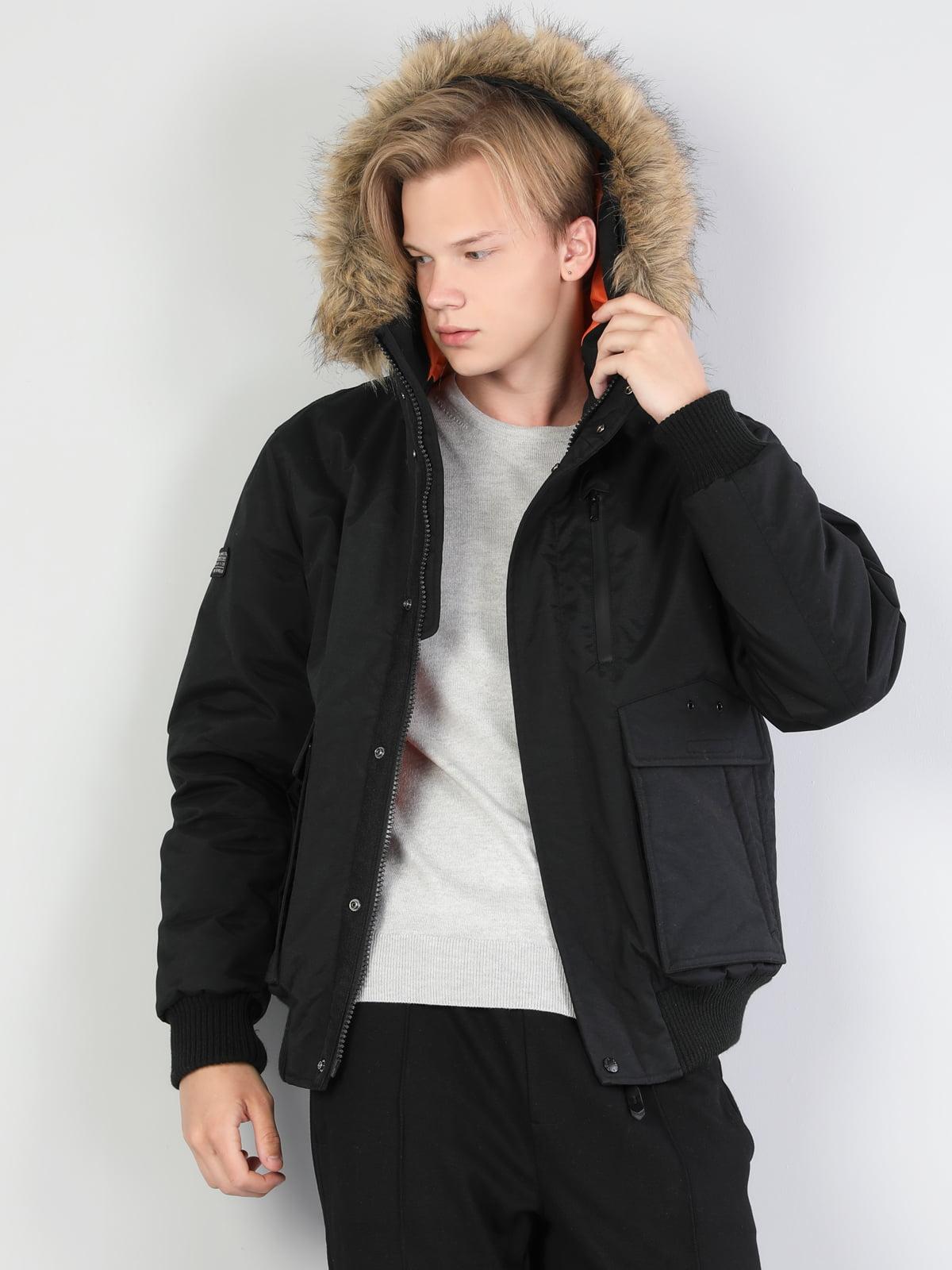 Куртка чорна | 5494171
