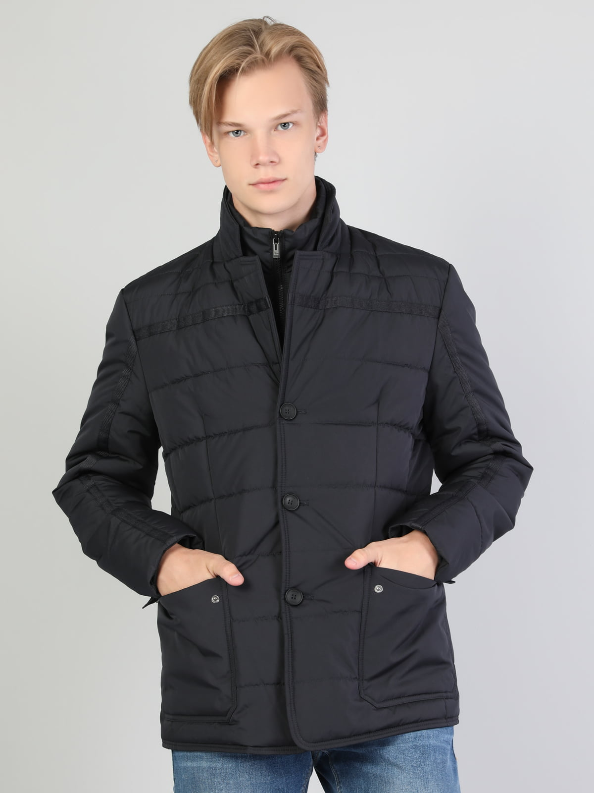 Куртка темно-синя | 5494319