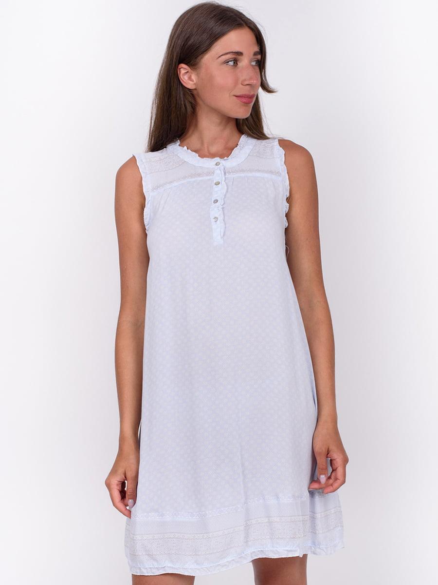 Сорочка нічна блакитна | 5495093