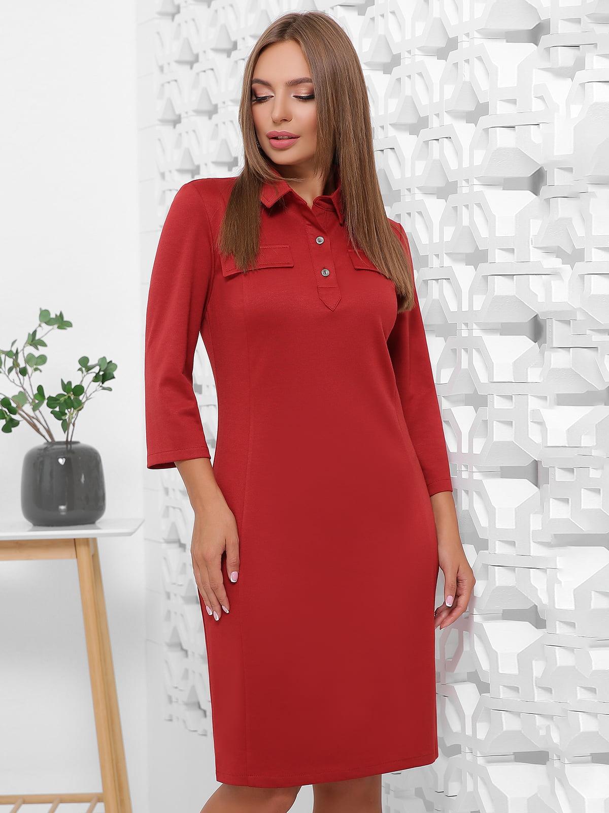 Сукня теракотового кольору | 5491898