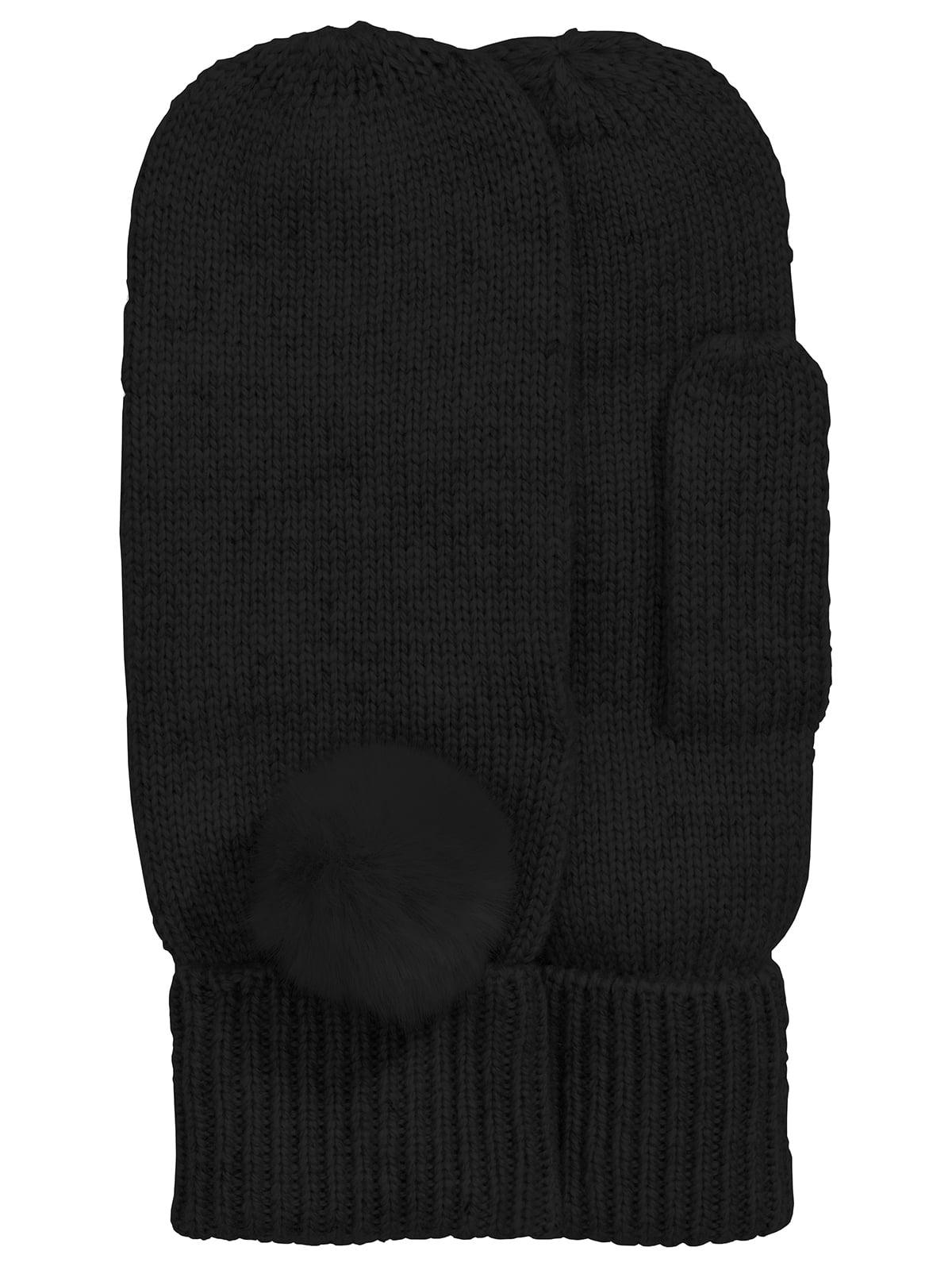 Варежки черные | 5496168